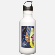 New Orleans, here musi Water Bottle