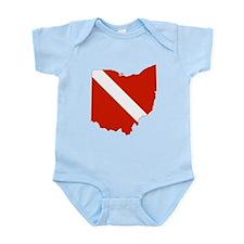 Ohio Diver Infant Bodysuit