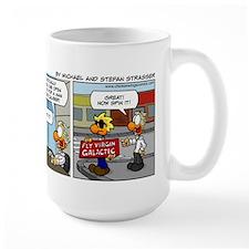 0728 - Chuck is hired at Virgin Galactic Mugs