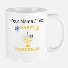 Custom Happy Hanukkah Mugs