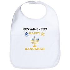 Custom Happy Hanukkah Bib