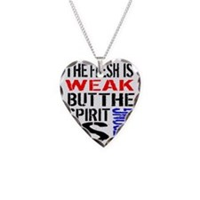 Never Quit Getting Fit Necklace