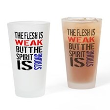 Never Quit Getting Fit Drinking Glass