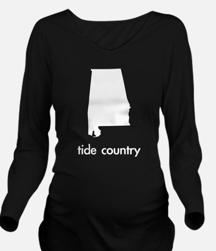 Tide Country Long Sleeve Maternity T-Shirt