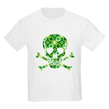 Irish Pirate Skull And Crossbones T-Shirt