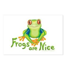 Frogs are Nice Postcards (Package of 8)