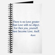 There Is No Love Greater Journal