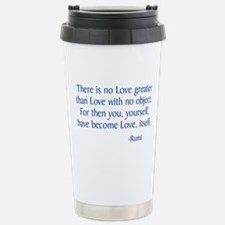 There Is No Love Greater Travel Mug