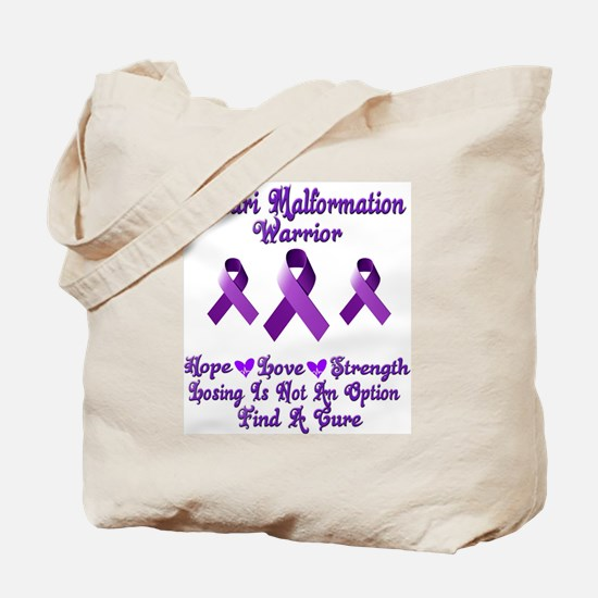 Chiari Malformation Tote Bag