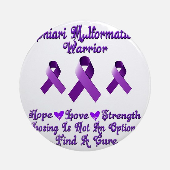 Chiari Malformation Round Ornament