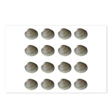 Quahogs - Hard Clams (16) Postcards (Package of 8)