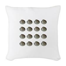 Quahogs - Hard Clams (16) Woven Throw Pillow