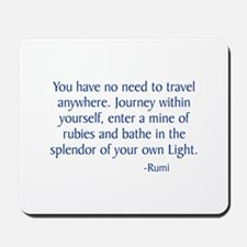 Journey Within Yourself Mousepad