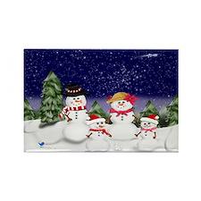 snowman-family-(scv2) Magnets