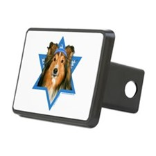 Hanukkah Star of David - Sheltie Rectangular Hitch