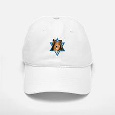 Hanukkah Star of David - Sheltie Baseball Baseball Cap