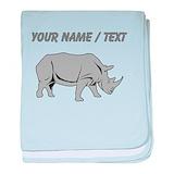 Rhinoceros Blanket