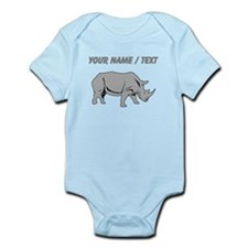 Custom Grey Rhino Body Suit