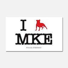 Cool Milwaukee Car Magnet 20 x 12