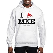 "I ""pit bull"" Milwaukee Hoodie"