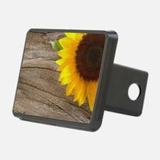 sunflower barnwood western Hitch Cover
