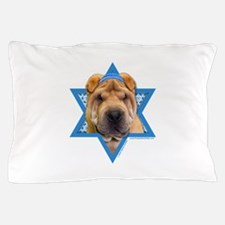 Hanukkah Star of David - Shar Pei Pillow Case