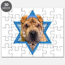 Hanukkah Star of David - Shar Pei Puzzle