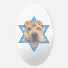 Hanukkah Star of David - Shar Pei Decal