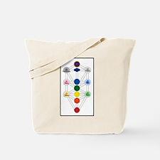 Chakra Tree of Life Tote Bag