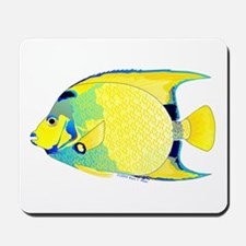 Queen Angelfish Mousepad
