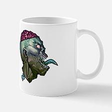 2 zombie heads Mug