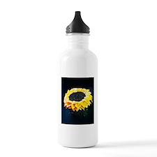Sunflower cupcake Water Bottle