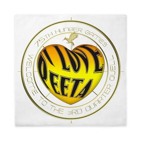 I Love Peeta Queen Duvet By Listing Store 2865584