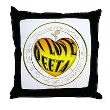 I Love Peeta Throw Pillow