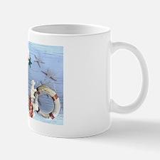nautical seashells beach fashion Mug