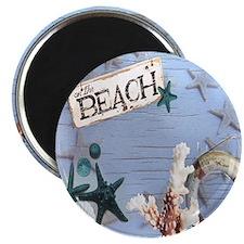 nautical seashells beach fashion Magnet
