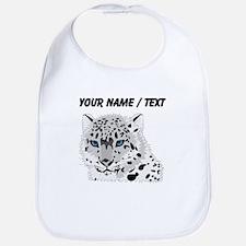 Custom Snow Leopard Bib