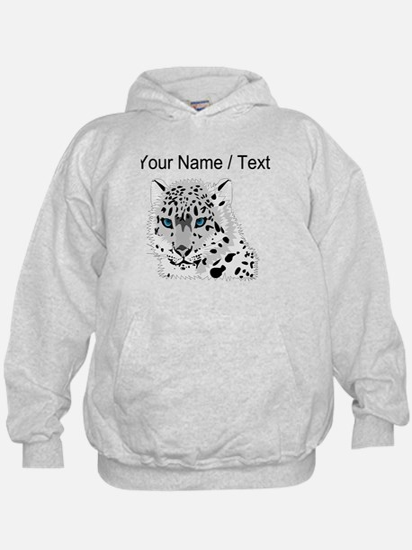 Custom Snow Leopard Hoodie