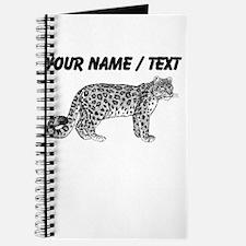Custom Leopard Sketch Journal