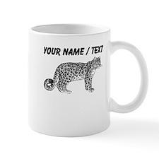 Custom Leopard Sketch Mugs