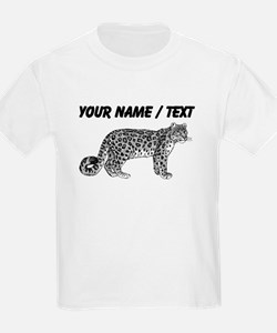 Custom Leopard Sketch T-Shirt