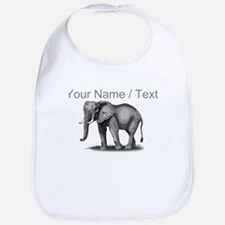 Custom African Elephant Bib