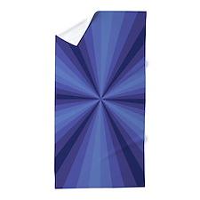 Blue Illusion Beach Towel