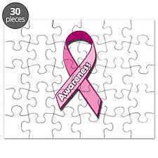 Breast Cancer Awareness Pink Ribbon Awareness Puzz