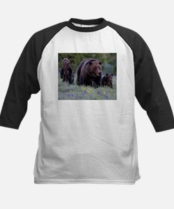 MAMMA GRIZZLY and 3 CUBS Baseball Jersey