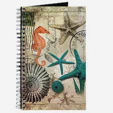 nautical seashells beach decor Journal