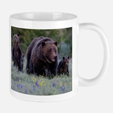 MAMMA GRIZZLY and 3 CUBS Mugs