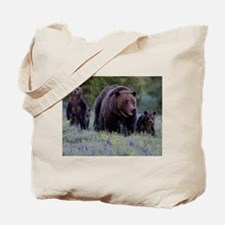 MAMMA GRIZZLY and 3 CUBS Tote Bag