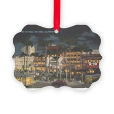 San Diego Travel Postcard From 19 Ornament