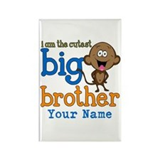 Custom Big Brother Monkey Rectangle Magnet